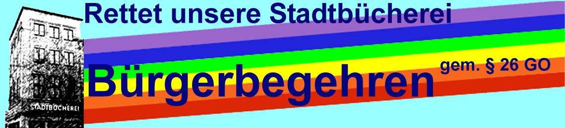 Logo Rettet unsere Stadtbücherei